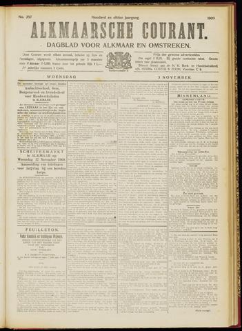 Alkmaarsche Courant 1909-11-03