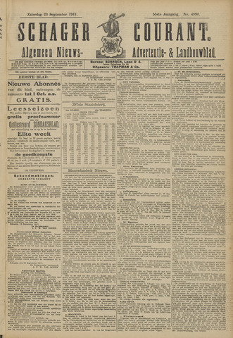 Schager Courant 1911-09-23