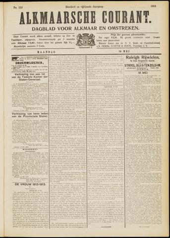 Alkmaarsche Courant 1913-05-19