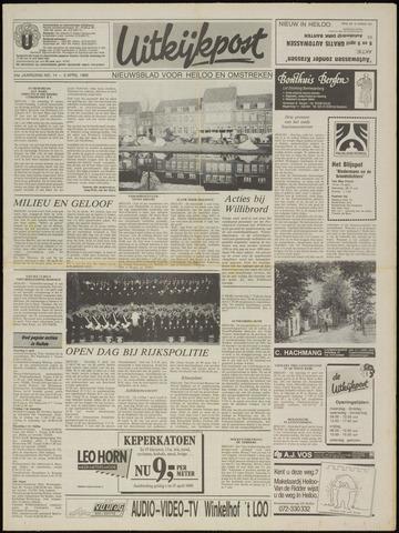 Uitkijkpost : nieuwsblad voor Heiloo e.o. 1989-04-05