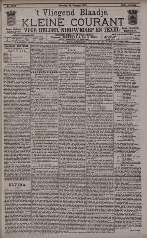 Vliegend blaadje : nieuws- en advertentiebode voor Den Helder 1897-02-20