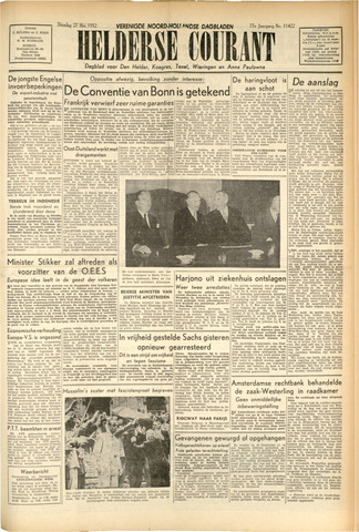 Heldersche Courant 1952-05-27