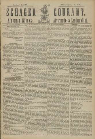 Schager Courant 1911-07-08