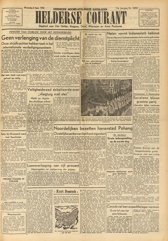 Heldersche Courant 1950-09-06