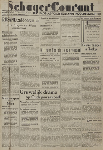 Schager Courant 1940