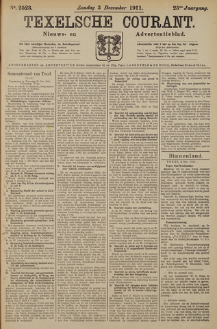 Texelsche Courant 1911-12-03