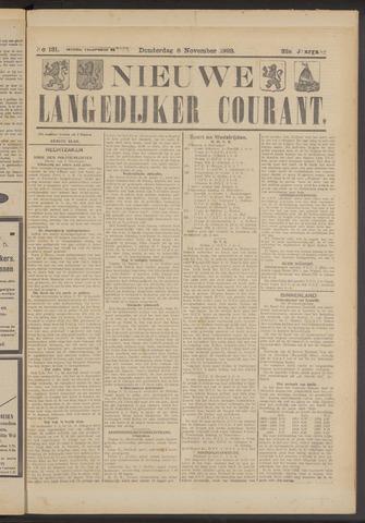 Nieuwe Langedijker Courant 1923-11-08