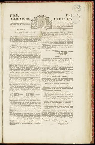 Alkmaarsche Courant 1853-05-09