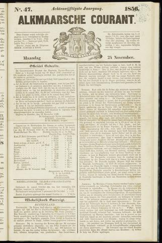 Alkmaarsche Courant 1856-11-24