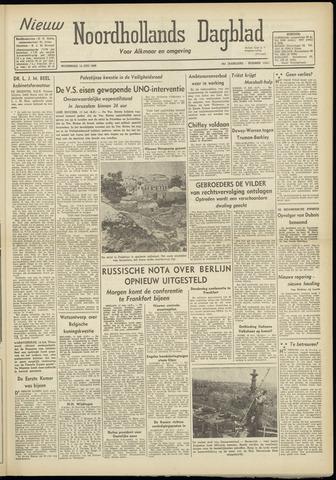 Nieuw Noordhollandsch Dagblad : voor Alkmaar en omgeving 1948-07-14
