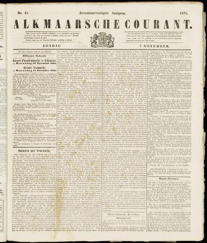 Alkmaarsche Courant 1875-11-07