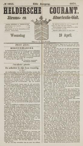 Heldersche Courant 1871-04-19