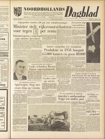 Noordhollands Dagblad : dagblad voor Alkmaar en omgeving 1958-01-21