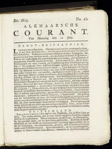 Alkmaarsche Courant 1803-07-11