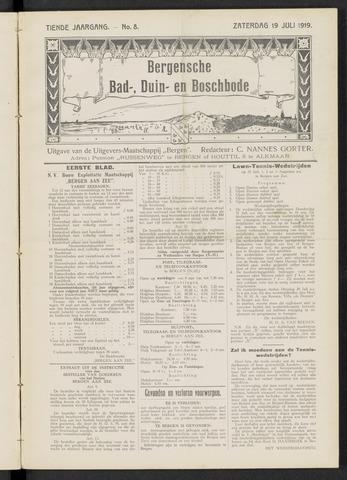 Bergensche bad-, duin- en boschbode 1919-07-19