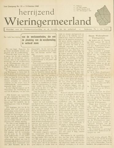Herrijzend Wieringermeerland 1945-10-05