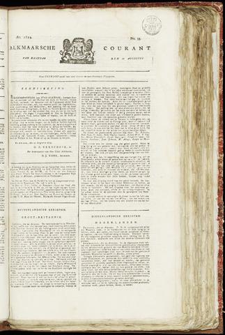 Alkmaarsche Courant 1819-08-30
