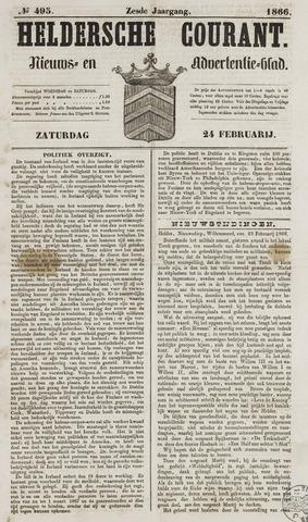 Heldersche Courant 1866-02-24