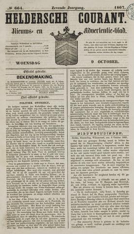 Heldersche Courant 1867-10-09
