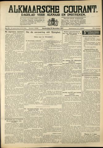 Alkmaarsche Courant 1937-11-25