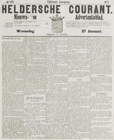 Heldersche Courant 1875-01-27