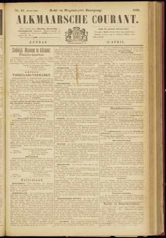 Alkmaarsche Courant 1896-04-12