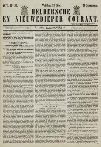 Heldersche en Nieuwedieper Courant 1870-05-13