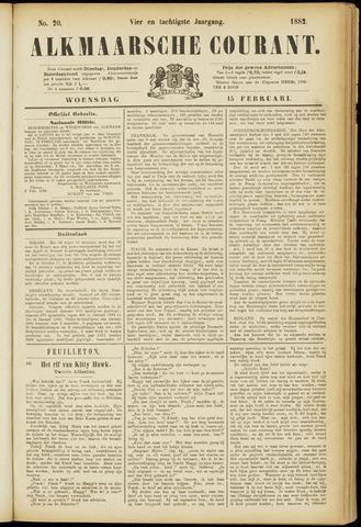 Alkmaarsche Courant 1882-02-15