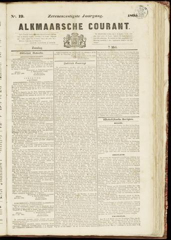 Alkmaarsche Courant 1865-05-07