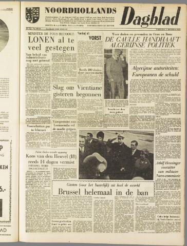 Noordhollands Dagblad : dagblad voor Alkmaar en omgeving 1960-12-14