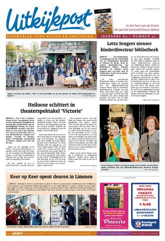 Uitkijkpost : nieuwsblad voor Heiloo e.o. 2018-10-10