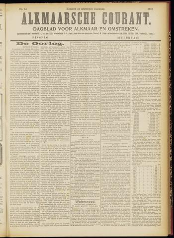 Alkmaarsche Courant 1916-02-22