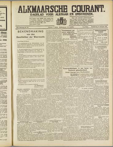 Alkmaarsche Courant 1941-02-27