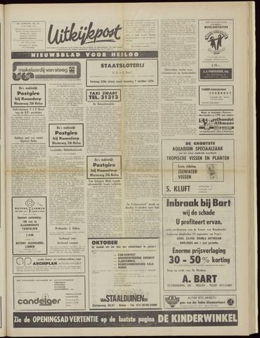 Uitkijkpost : nieuwsblad voor Heiloo e.o. 1974-10-02