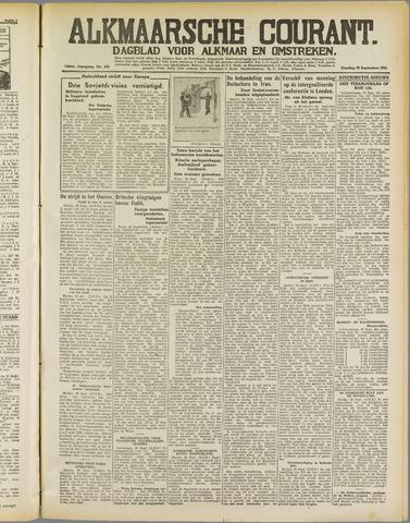 Alkmaarsche Courant 1941-09-30