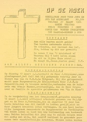 Op De Hoek, weekblad voor Akersloot 1964-03-27