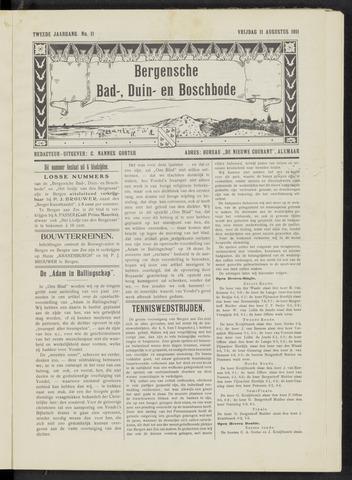 Bergensche bad-, duin- en boschbode 1911-08-11