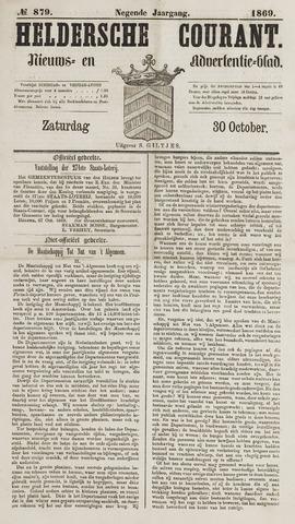 Heldersche Courant 1869-10-30
