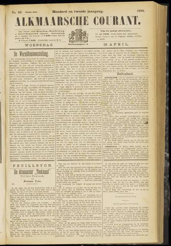 Alkmaarsche Courant 1900-04-25