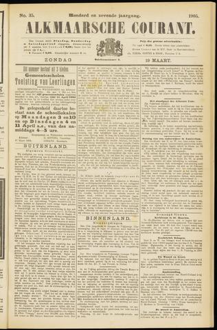 Alkmaarsche Courant 1905-03-19