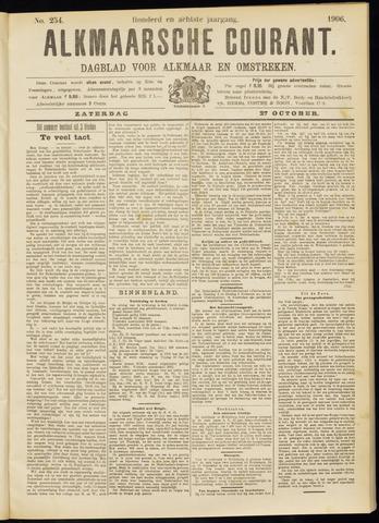 Alkmaarsche Courant 1906-10-27