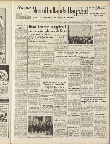 Nieuw Noordhollandsch Dagblad : voor Alkmaar en omgeving 1950-07-15