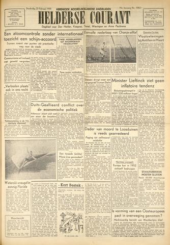 Heldersche Courant 1950-02-23
