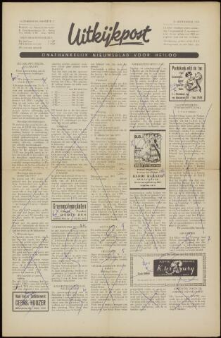 Uitkijkpost : nieuwsblad voor Heiloo e.o. 1958-09-19