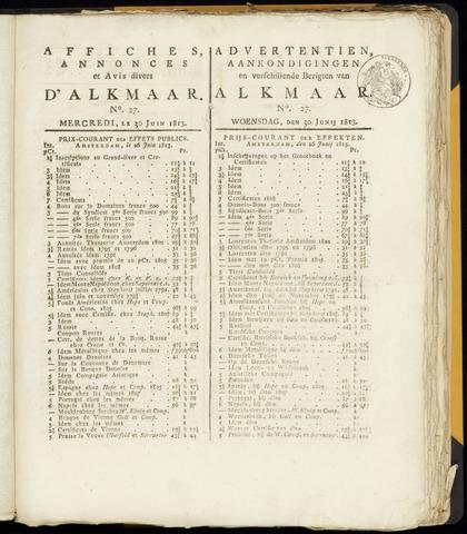 Alkmaarsche Courant 1813-06-30