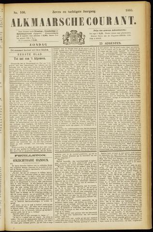 Alkmaarsche Courant 1885-08-23