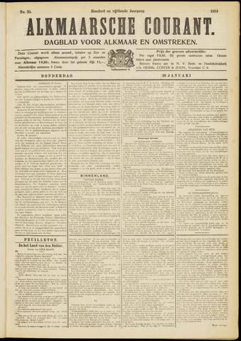 Alkmaarsche Courant 1913-01-30