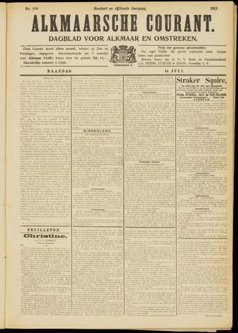 Alkmaarsche Courant 1913-07-14