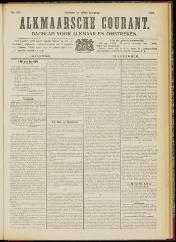 Alkmaarsche Courant 1909-11-22