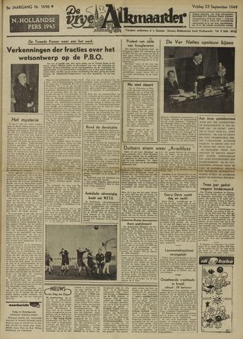 De Vrije Alkmaarder 1949-09-23